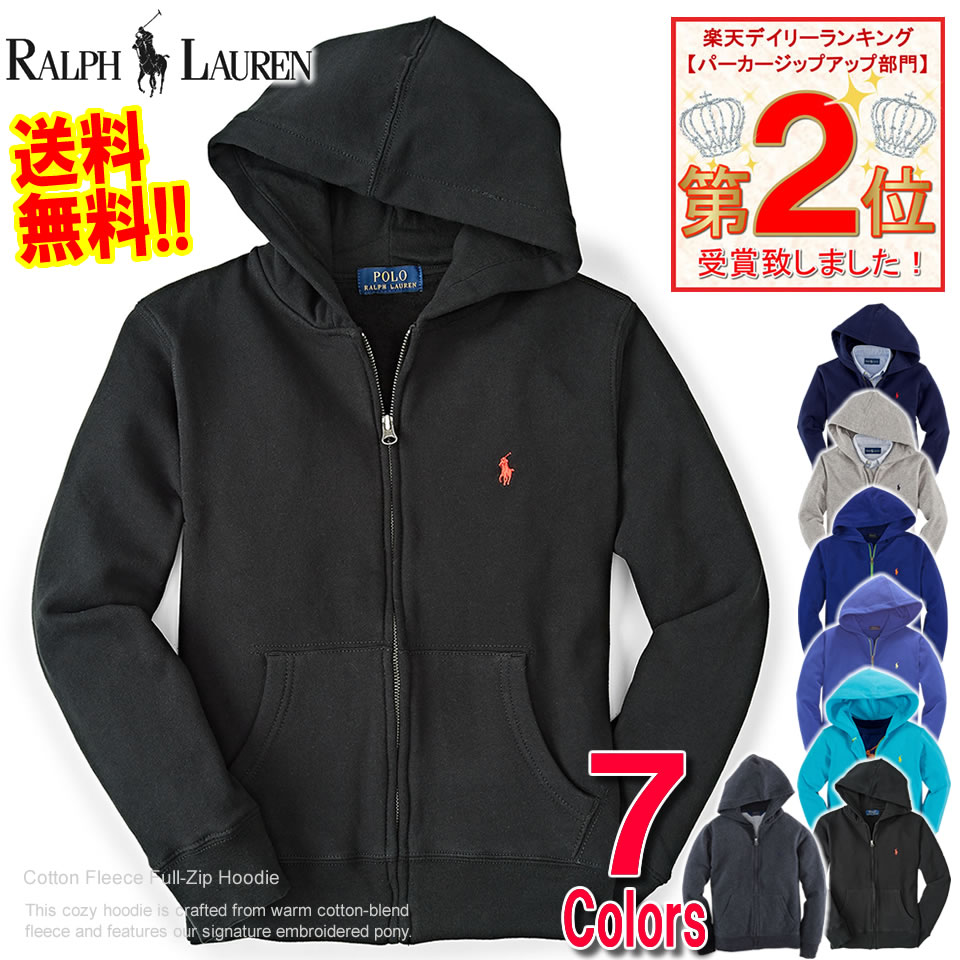 Polo Ralph Lauren Boys parka Cotton Big Pony Hoodie (five colors) (POLO RALPH LAUREN)(23947196)(S,M,L,XL)( men, a new work are deep-discount and challenge ...
