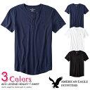 ■アメリカンイーグル メンズ ヘンリーネック Tシャツ AEO Legend Henley T-Shirt 3色 (4165-9034) S M L XL XXL ラッピング 無料 あす楽 3980円以上 送料無料 メンズ かっこいい ギフト にも 大きいサイズ あり 秋物 冬物 新作 入荷 プレゼント にも