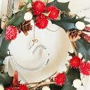 ヒイラギのクリスマスリースS / プリザーブドフラワー・クリスマスリース・ギフト・アレンジメント・お祝い・お誕生日・お礼・結婚祝い・新築祝い