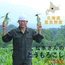 【 送料無料 お買い得価格 】松本さんのとうもろこし 【1.5kg】 ◆ 北海道富良野産 / ミニサイズ 新鮮 朝採り 甘い 北海道産 トウモロコシ セール 業務用