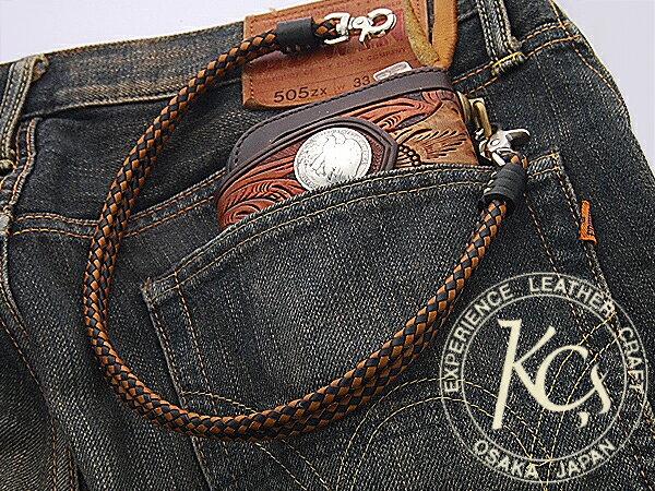 【KC,s】デュアル ウォレットレーン /牛革ウ...の商品画像