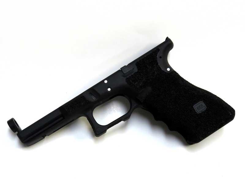 SIDEARMS 東京マルイ 電動ハンドガン Glock18C用 サリエントアームズスタイル ステッピングフレーム ブラック