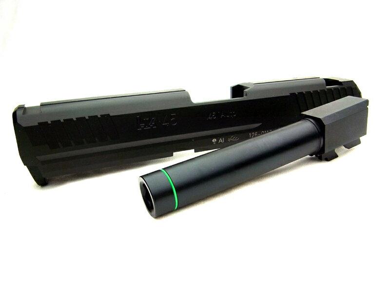 DETONATOR KSC 対応 H&K HK45 カスタムスライド ブラック