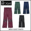 ショッピングスノーボードウェア 7OVE LOVE ウェア 13-14 MEN'S EASY PANTS ラブ スノーボード ウェアー PT パンツ 【旧モデル特価SALE】【正規品 即納可能 送料無料 付き】