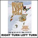 RIGHT TURN LEFT TURN ライト・ターン・レフト・ターン ALMANAC DVD SNOW BOARD スノーボード イメトレ THINK THANK 14snowdvd