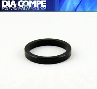 DIA-COMPE DIACOMPE brs101 spacer 1 - 1 / 8 5 mm: black