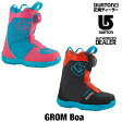 BURTON バートン ブーツ 16-17 GROM BOA グロムボア KIDS 子供用 キッズ 【正規品 送料無料】 BURTON バートン
