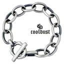 珠宝, 手表 - cooldust FUNKOUTS【クールダスト】ブレスレット メンズ plain mat bracelet シルバー プレーン 925 スターリングシルバー FCB-076