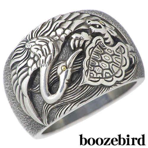 boozebird【ブーズバード】 メンズ シルバー リング 鶴 亀 指輪 K24 15~30号 925 スターリングシルバー 【送料無料】boozebird【ブーズバード】メンズ シルバー リング 鶴 亀 指輪 K24 925 スターリングシルバー boozebird【ブーズバード】