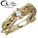 cure【キュア】リング 指輪 レディース ゴールド リィー K10 3~19号 ダイヤモンド CU-KRI-033
