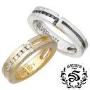 ショッピングリング 【セインツ】SAINTS リング 指輪 ペアー シルバー ジュエリー ジルコニア クロス 15〜21号 7〜13号 925 スターリングシルバー SSR2-116BK-GD-P