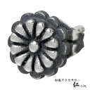 [Japanese-style accessories  -zin] chrysanthemum kiku  chrysanthemum silver pierced earrings /1 unit selling [lapping free of charge] [easy  _ packing choice]