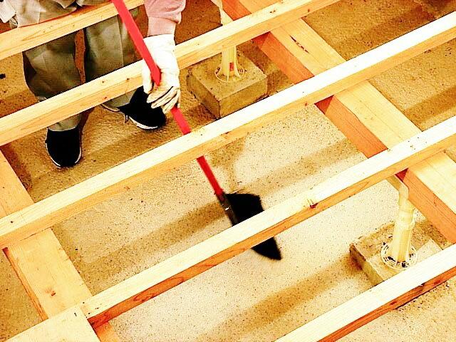 床下用乾燥剤 専用養生シート【10坪分】(10...の紹介画像3