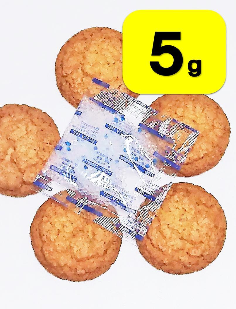 食品用乾燥剤 シリカゲル 【 5g 】 ×【30...の商品画像