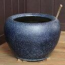 信楽焼 10号なまこ火鉢 和風を演出する陶器火鉢です。陶器ひ...