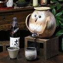 焼酎が美味しくなると評判の信楽焼焼酎サーバー ふくろう焼酎サーバー 陶器サーバー 信楽焼サーバー フクロウサーバー ギフト[ss-0101]