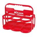 ミカサ ボトルキャリアー(6本入) レッド MIKASA BC6 R