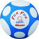 ミカサ ふあふあサッカー4号(白/青) MIKASA FFF4WB