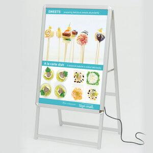【送料無料】A型看板 LEDグリップA A1サイズ 仕様/カ