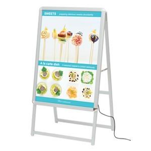 【送料無料】A型看板 LEDグリップA B1サイズ 仕様/カ