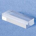 カード立て 差し込み カード立て サイコロカード立 A592-1 透明 差し込み カード立て カード立て