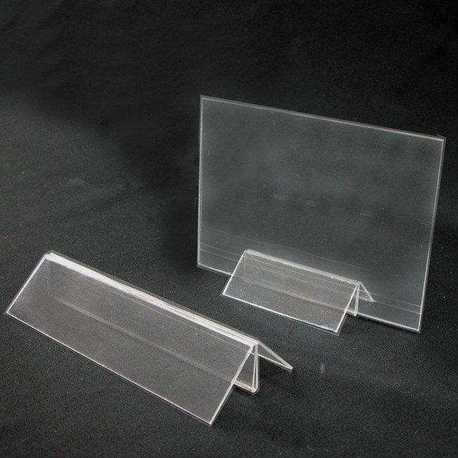 カード立て 差し込み カード立て PETクリップスタンド 大 (A4、B5、A5対応) 差し込み カード立て カード立て