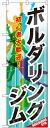 のぼり旗 ボルダリングジム (GNB-2488) アミューズメント施設/ゲームセンターの販促・PRにのぼり旗 (アミューズメント/)