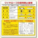 玉掛関係標識 玉掛用と台付用.. (安全用品・標識/安全標識/クレーン・玉掛関係標識)