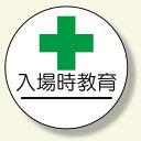 作業管理関係ステッカー 入場時教育 (安全用品・標識/身に付ける安全用品/ヘルメット用ステッカー・用品)