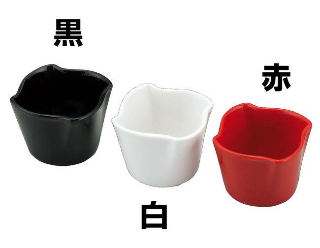 フラワーボウル 赤 [W26818]【和食器・業務用調理道具の用美ブランド】