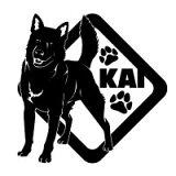 【】愛犬ネーム追加無料!20色から選んで作れる。サイズも3種類 向きや内貼りも選べます。【】 甲斐犬 ステッカー 甲斐犬 シール 1  甲斐犬 オリジナルステッカー 甲斐犬ステッカ