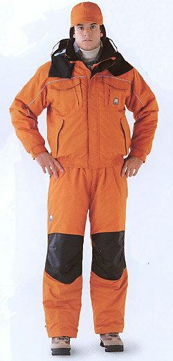 極寒仕様のニューフェイス防寒ブルゾン・サロペットセット