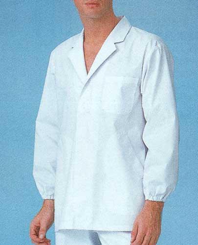 男性用調理衣 長袖白衣