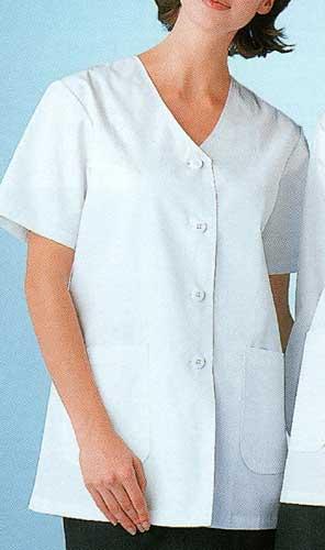 女性用調理衣半袖