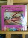 【ホルベイン】 アーチスト色鉛筆24色セット/基本色 新メタルケース OP920