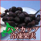 【正品切れのため現在加工品果実の中でもできるだけきれいな実をお送りしています】 北海道産北海道産ハスカップ冷凍果実(加工用果実) 2kg(250g×8袋)【冷凍便】