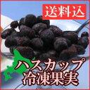 【送料込】北海道産ハスカップ冷凍果実 1kg(250g×4袋)【冷凍便】(実のつぶれなどがあります。)