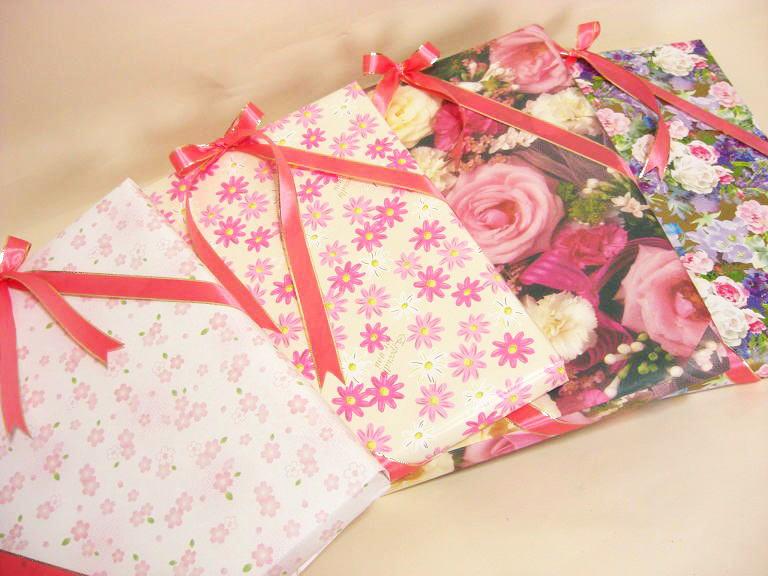 ギフトラッピングお選び下さい大切な方への贈り物にご希望者にはメッセージカードを添えます