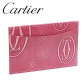 カルティエ パスケース カードケース Cartier Newピンク ハッピーバースデー L3001477 新品・正規品 【送料無料】【ラッピング無料】【RCP】