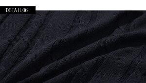 """【送料無料】""""VICCI【ビッチ】コットンケーブルVネック長袖ニットソー/全9色""""【あす楽対応】【ニットメンズトップスVネックセーター無地】"""