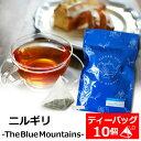 紅茶 ティーバッグ 10個入りパック ニルギリ-The Blue Mountains-