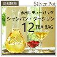 【送料無料】季節限定!水出し紅茶用ティーバッグ Champagne Darjeeling[シャンパン・ダージリン](12TB)