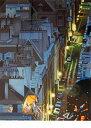 【ヒロヤマガタ】「サンジュルマンの夜」 版画(シルクスクリーン) 6号大 限定250部 芸術 文化【楽天・書画肆しみづ】【美術 目利き真贋保障】