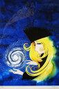【松本零士】 「銀河鉄道999-星の海の夢」 版画(シルクスクリーン) 15号大 額装 【楽天・書画肆しみづ】