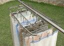 NEWダイレクトステンレスハンガー 40ピンチ日本製 ステンレス コンパクト折りたたみ式 安定 定番 丈夫 頑丈長持ち 壊れにくい 洗濯 物干し下村企販 燕三条 ツバメ
