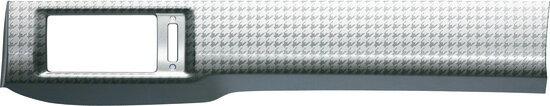 送料無料 HONDA ホンダ FREED フリード ホンダ純正 インテリアパネル アウトレットパネル(2枚セット)[シルバー調千鳥格子柄(交換タイプ)] 【対応年式2013.04〜次モデル】