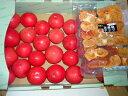 訳ありトマト4kg1ケース+次郎柿チップ(ドライフルーツ)1...