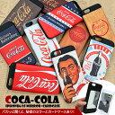 スマホケース iPhone7 iPhone6 iPhone6s 【 コカコーラ 】CocaCola iPhoneケース TPUケース ミラー付き アイフォンケース スマホカバー カード収納 Coca-Cola ロゴ入り