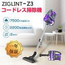 ZIGLINT 掃除機 コードレス掃除機 サイクロン 壁かけ...
