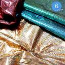 メモリーホロフラッシュ ホログラム箔加工生地(6815)【メール便不可】 コスプレ 衣装 文化祭 ハロウィーン ハロウィン 生地 布地 布 キラキラ ホログラム シルバー ゴールド ピンク ホロ メタリック 仮装